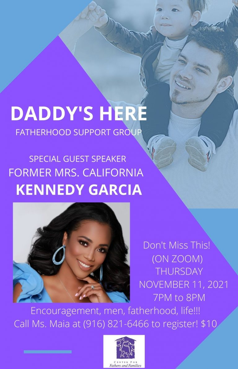 DADDY'S HERE FATHERHOOD SUPPORT GROUP