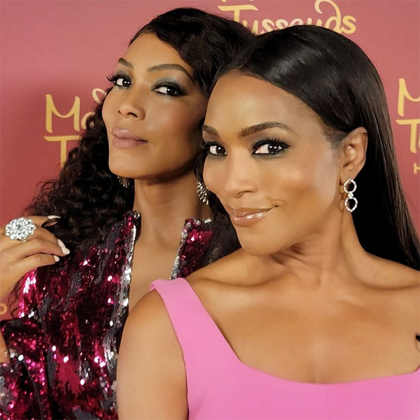Angela Bassett's Wax Figure Is So Realistic People Can't Tell Which Is Which