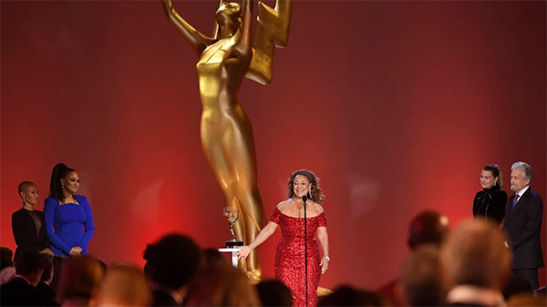 """Emmys: Debbie Allen Encourages Youth to """"Claim Your Voice"""" During Emmy Awards Speech"""