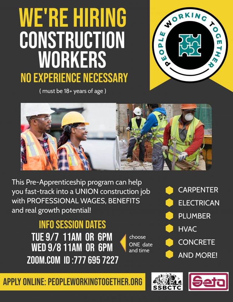 Construction Jobs Are Coming – Get in Now!