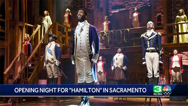 HAMILTON Opened Last Night At SAFE Credit Union Performing Arts Center