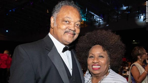 Jacqueline Jackson, the wife of civil rights leader Rev. Jesse Jackson, is home after hospitalization for Covid-19