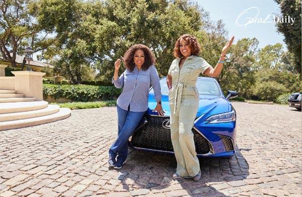 Oprah Winfrey and Gayle King take a 'Joy Ride'