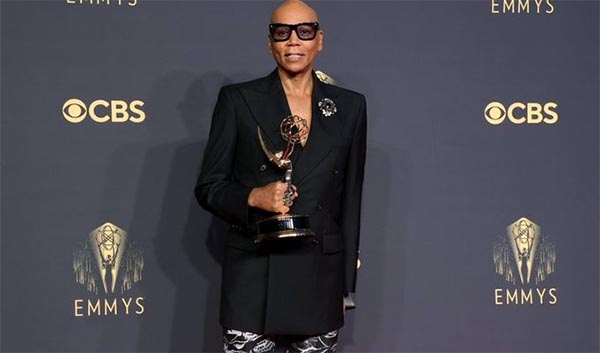 RuPaul Breaks Record for the Most Emmy Wins by a Person of Color