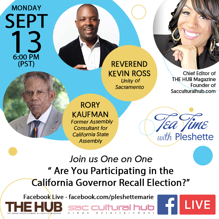 """Facebook Townhall: """"Are You Participating in the California Governor Recall Election"""""""