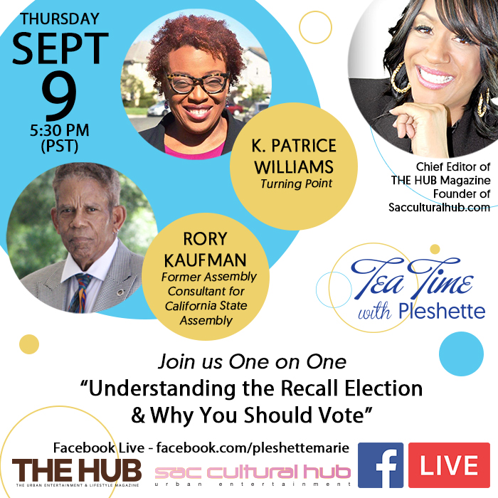 """Facebook Townhall: """"Understanding the RECALL ELECTION & Why You Should Vote"""""""