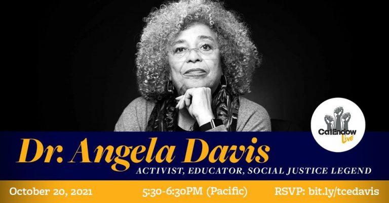 Dr. Angela Davis at CalEndow Live