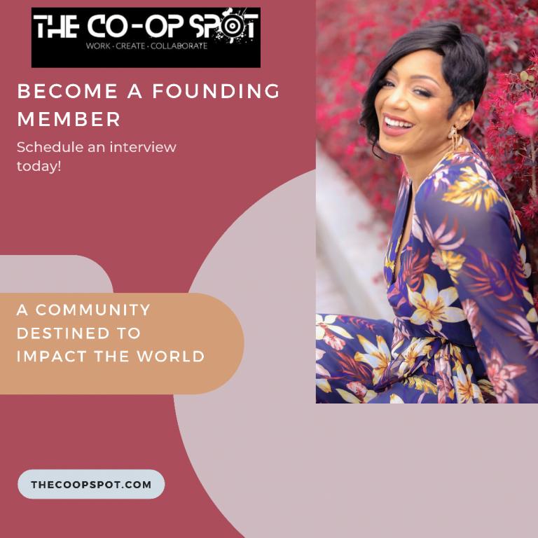 Become a Founding Member of The Co-Op Spot in Sacramento or Stockton