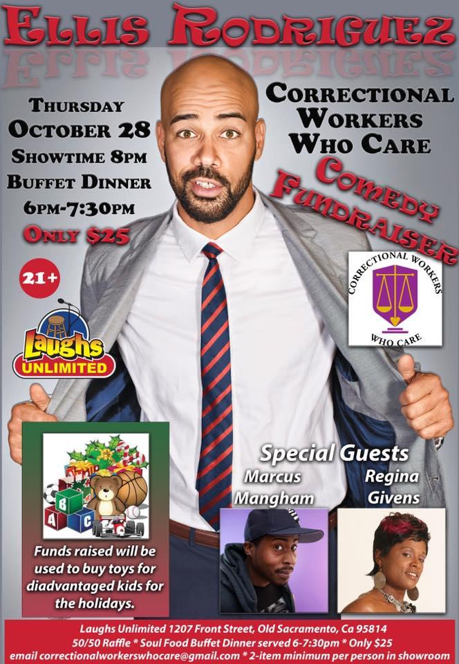 Comedy show fundraiser