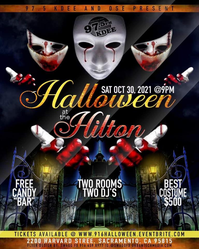 Halloween at the Hilton!